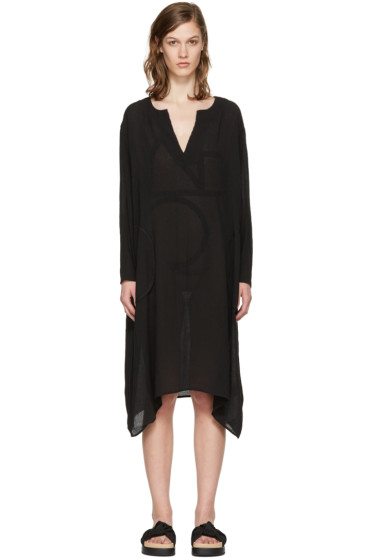 Totême - Black Soma Tunic Dress