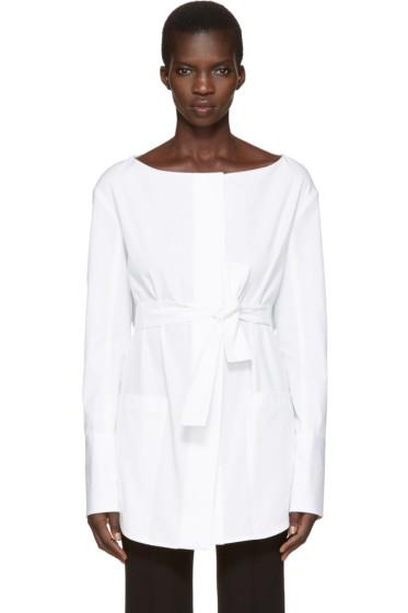 Protagonist - White 09 Tunic Shirt