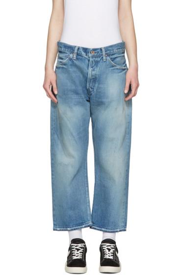 Chimala - Blue Selvedge Vintage Baggy Jeans