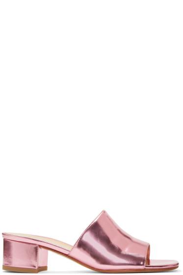 Maryam Nassir Zadeh - Pink Sophie Slide Sandals