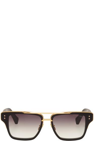 Dita - Black Mach-Three Aviator Sunglasses