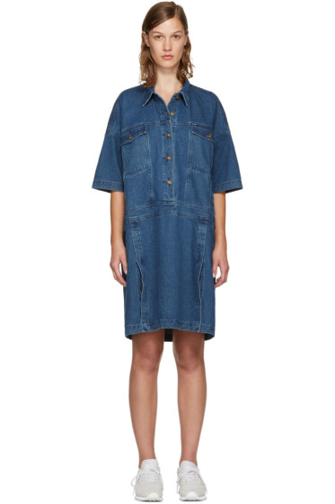 Perks and Mini - Indigo Denim Nagovisi Dress