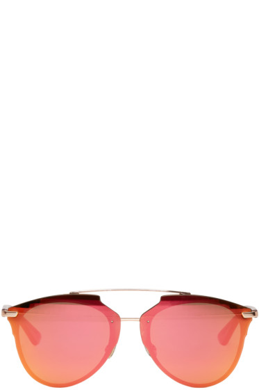 Dior - ピンク ソー リアル サングラス