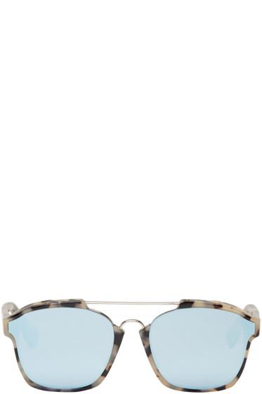Dior - トータスシェル アブストラクト サングラス
