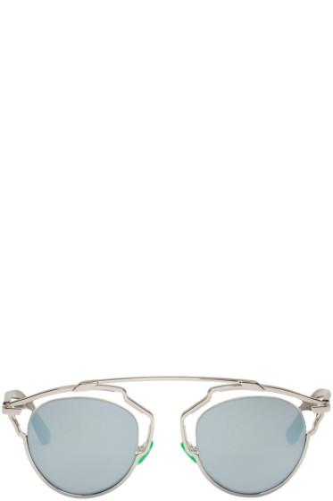 Dior - シルバー So Real サングラス