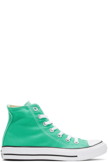 Converse - Green Classic Chuck Taylor All Star OX High-Top Sneakers