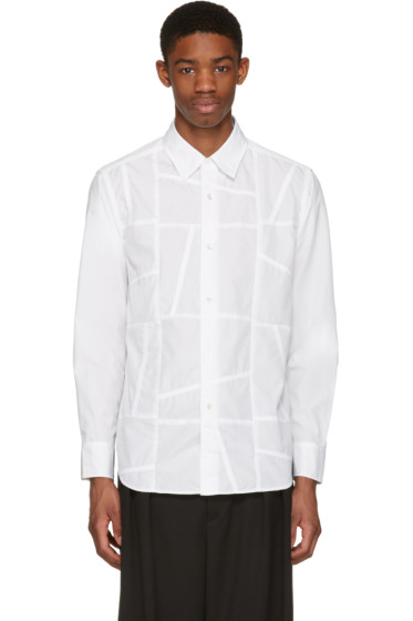 Ganryu - White Patch Shirt