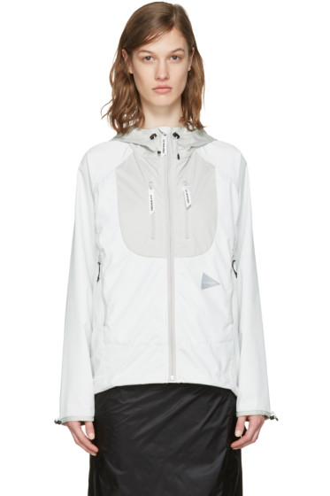and Wander - Off-White Trek Jacket