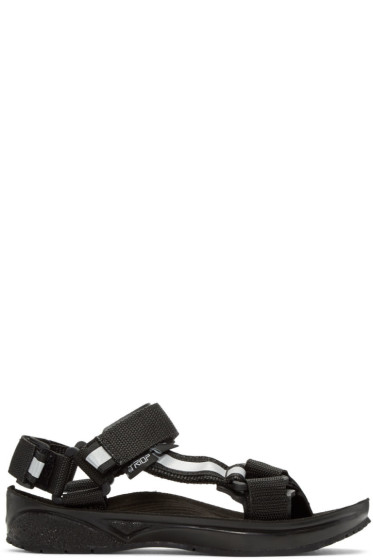 and Wander - Black Triop Edition Straps Sandals
