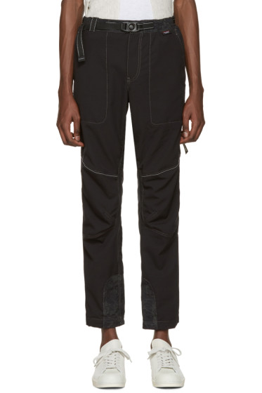 and Wander - Black Schoeller Reflect Trousers