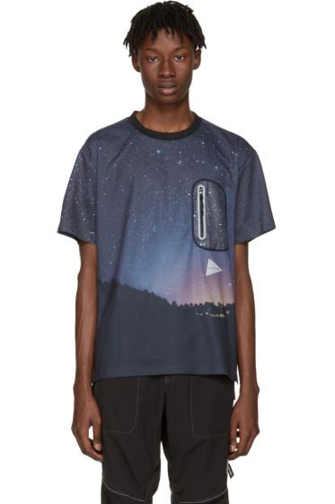 and Wander - Navy Starlit Sky Seamless T-Shirt