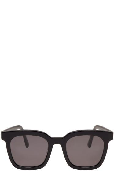 Gentle Monster - Black Finn Sunglasses