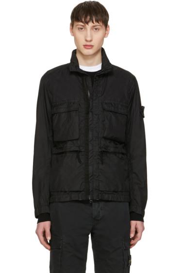 Stone Island - ブラック ポケット ジャケット