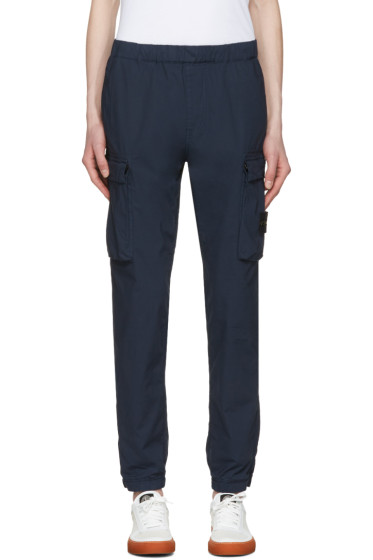 Stone Island - Blue Cargo Pants