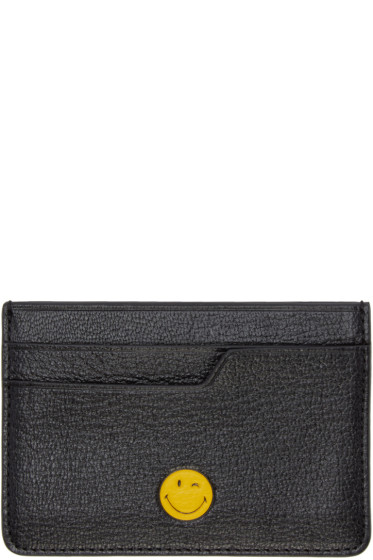Anya Hindmarch - Black Wink Card Holder