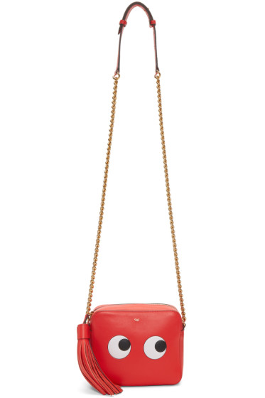 Anya Hindmarch - Red Eyes Right Crossbody Bag