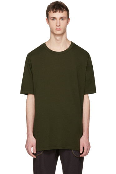 Faith Connexion - Green Oversized Distressed T-Shirt