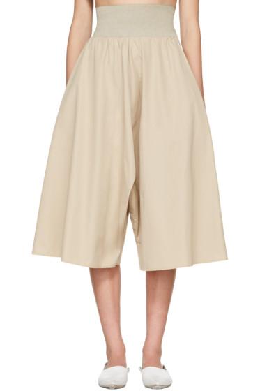 Bless - Beige Long Culottes