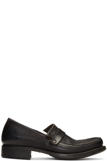 Cherevichkiotvichki - Black Pointy Moccasin Loafers