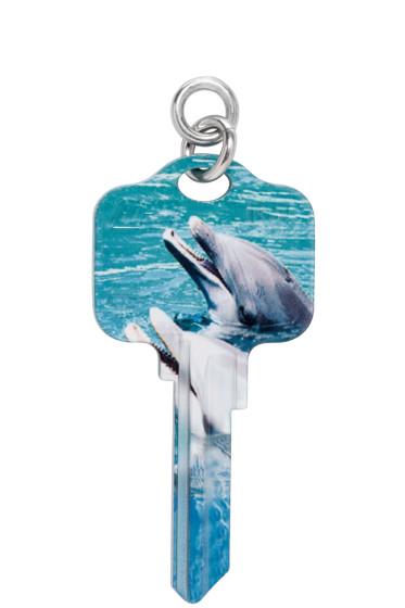 Ribeyron - Multicolor Key Earring