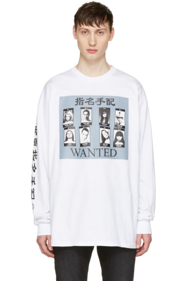 Richardson - White 'Wanted' T-Shirt