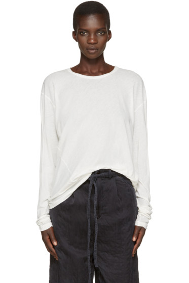 Lauren Manoogian - Off-White Vellum T-Shirt