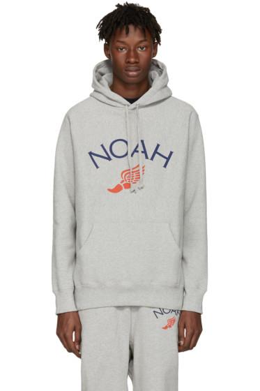 Noah NYC - Grey Jolly Wingfoot Hoodie