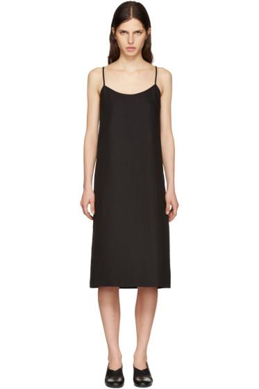 Moderne - Black Portrait Slip Dress