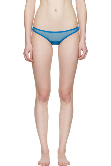 Yasmine Eslami - Blue Jeanne Mini Briefs