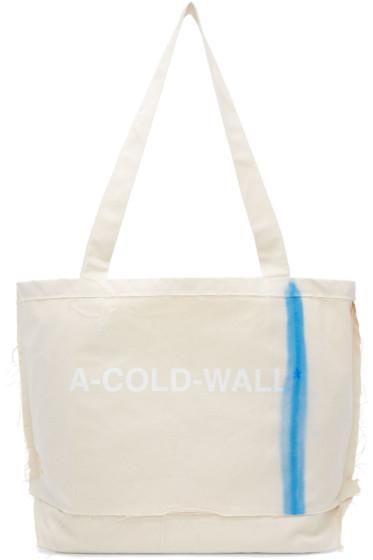 A-Cold-Wall* - エクリュ インダストリアル セメント トート
