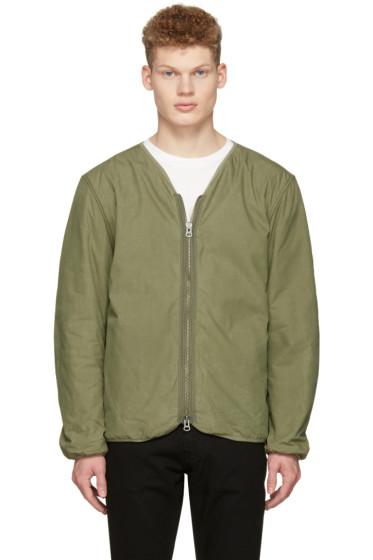 Saturdays NYC - Green Khari Liner Jacket