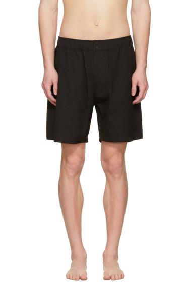 Saturdays NYC - Black Trent Swim Shorts