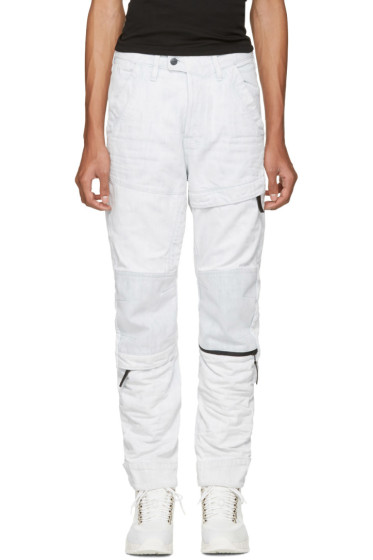 Raw Research - Blue Rackam 3D Tapered Jeans