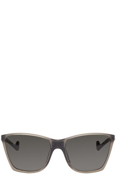 District Vision - Grey Keiichi Polarized Sunglasses