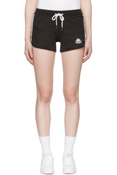 Kappa - Black Pitstop Shorts