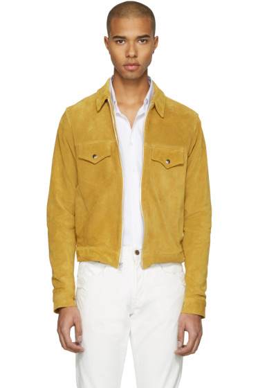 Empathy Los Angeles - Yellow Suede 'Feminine Grace' Jacket