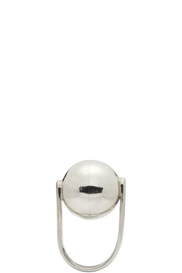Sophie Buhai - Silver Ball Ring