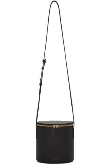 Cuero&Mor - Black Mini Bucket Bag