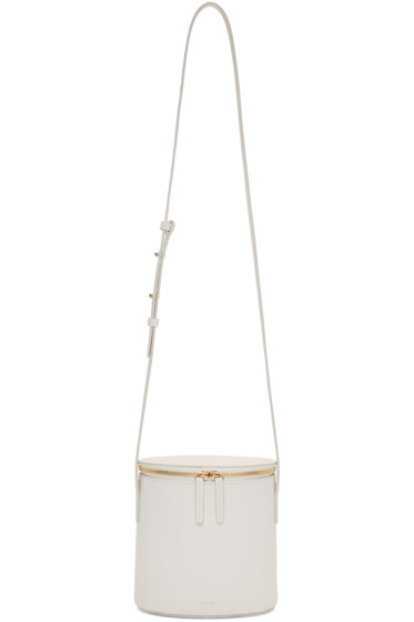 Cuero&Mor - White Mini Bucket Bag