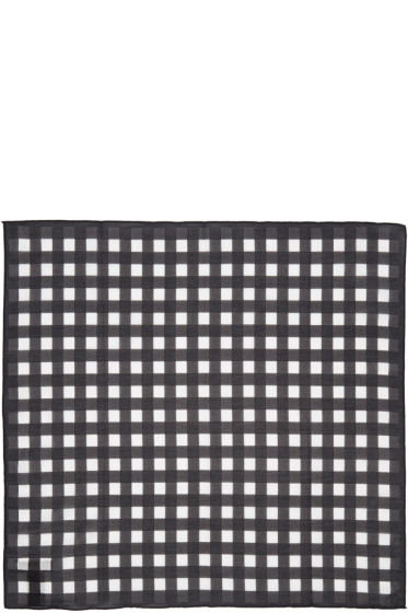 Rag & Bone - Black Gingham Bandana