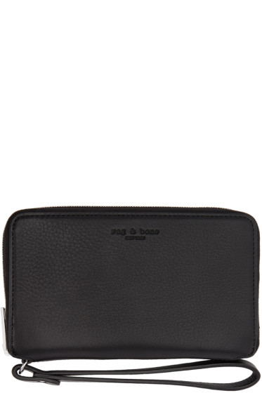 Rag & Bone - Black Phone Wristlet Wallet