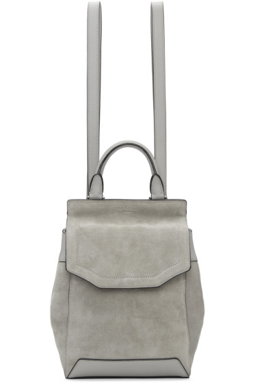 Rag & Bone - Grey Small Pilot II Backpack