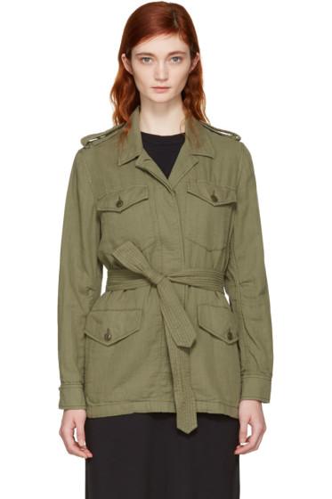 Rag & Bone - Green Bennett Military Jacket