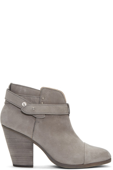 Rag & Bone - Grey Harrow Boots