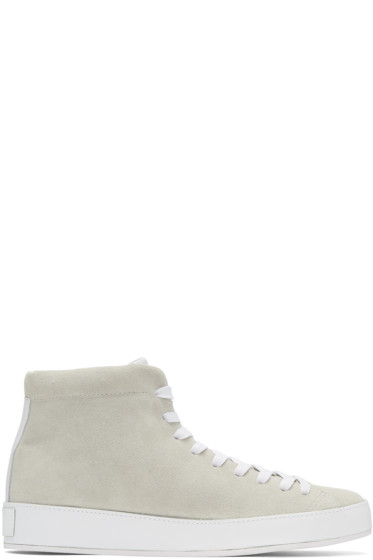 Rag & Bone - Off-White RB1 High-Top Sneakers