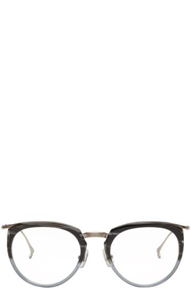 Issey Miyake Men - Grey Boston 1 Glasses