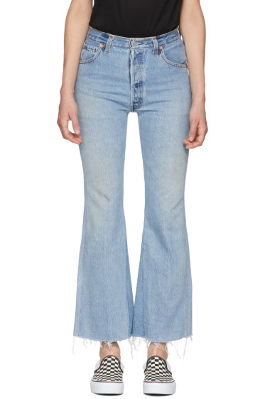 Re/Done - Blue 'The Leandra' Jeans