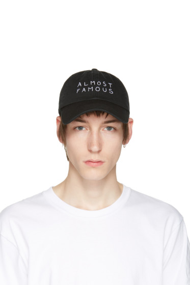 Nasaseasons - Black 'Almost Famous' Cap
