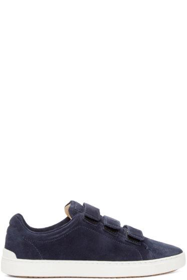 Rag & Bone - Navy Suede Kent Sneakers