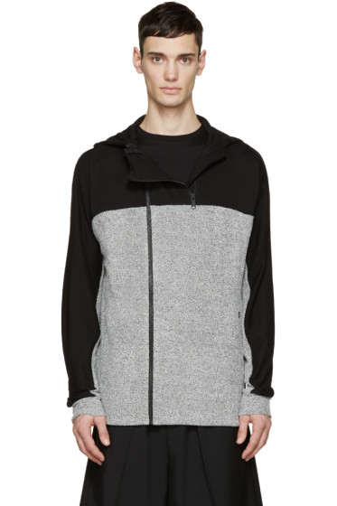 Public School - Grey Anorak Pullover